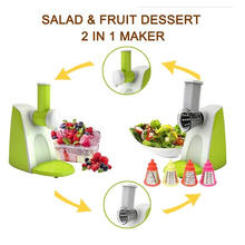 2 in 1 Multifunction Salad Shooter, Salad Maker