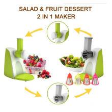 Tirador de ensalada multifuncional 2 en 1, fabricante de ensaladas