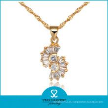 Nuevo diseño actual de joyería de plata en stock (J-0060)