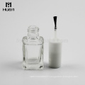 design your own square empty nail polish glass bottle