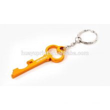 promotional aluminium alloy beer bottle opener key ring