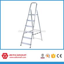 Échelle rabattable de 6step, échelle de pas de ménage, échelle en aluminium fournisseur