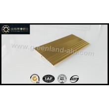 Glt160 Alumínio Floor Conexão Trim Gold Shiny para a Índia