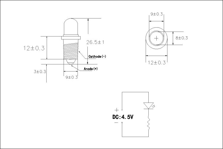 E10 4.5V LED