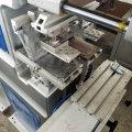 2 color ink tray plastic pad printer machine