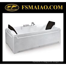 Высококачественная прямоугольная акриловая 2-х местная автономная ванна (BA-8708)