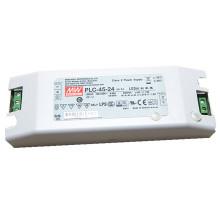 Original MEANWELL 30 W para 100 W PLC série terminal parafuso levou driver 48vdc para 48 v luz led PLC-45-48