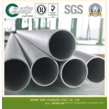Tubo de acero inoxidable sin soldadura DIN17007 1.4301