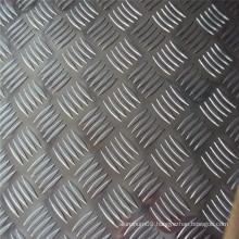 7055 aluminum alloy plain diamond metal sheet / plate