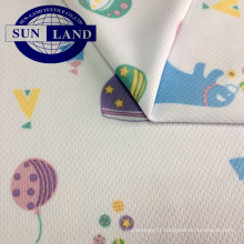Tissu micro-treillis 100% polyester coolpass dry fit