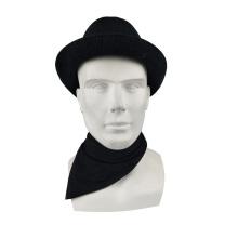 Custom Multifunctional Solid Color Seamless Headscarf Outdoor Sports Tube Mask Bandana