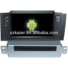 Android System car dvd player for Citroen C4L with GPS,Bluetooth,3G,ipod,Games,Dual Zone,Steering Wheel Control