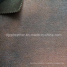 High Quality Breathable PU Furniture Leather (QDL-FB0056)