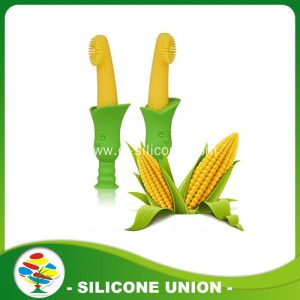 Custom Foldable Silicone Corn Toothbrush