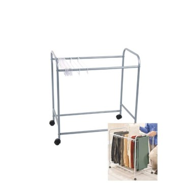 Hangers Rolling Pants Trolley