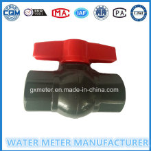 Control Type Ball Valves with Plastic Body of Dn15mm