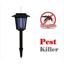 Solar Powered Mosquito Killer Garden Light