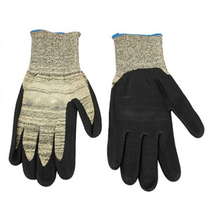 Full nitrile coated gloves oil resistant safety gloves