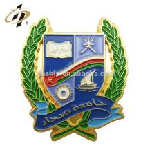 Custom soft esmalte ímã de metal emblema do pino de lapela
