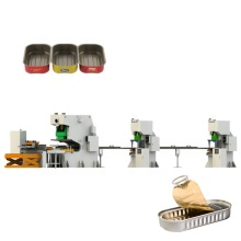 aluminum cans tuna can making line