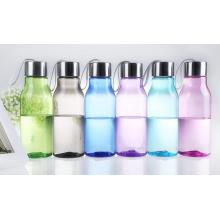 Portable travel glass bottles