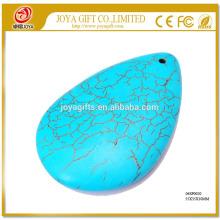 Halbedelstein Turquoise Waterdrop Schmuck Halskette Anhänger
