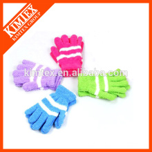 Ladies custom knit fashion gloves