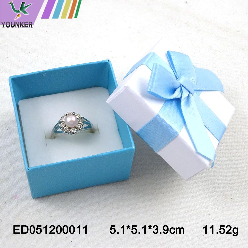 Elegant Ribbon Ring Boxes 006