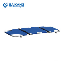SKB1A08 Medical Appliances Comfortable Folding Ambulance Stretcher