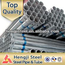ASTM A53 esquema 40 tubo de aço galvanizado quente mergulhado