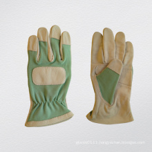 Goatskin Leather Double Palm Garden Glove-7316.04
