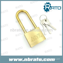 RP-187 50mm long brass shackle padlock