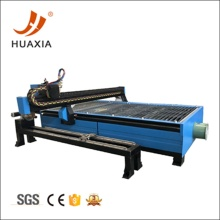 CNC plasma cutter with pipe cutting equipment