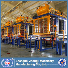 Máquina de EPS, Máquina de moldeado de formas EPS