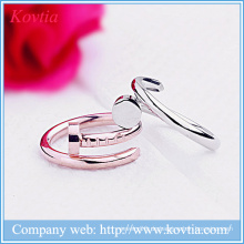 Metall Split Ring Design offenen Nagel Ringe Schmuck Mode Modellierung Ring yiwu