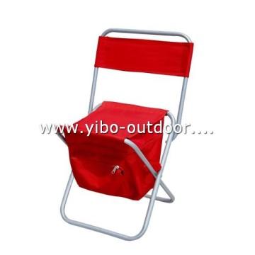 Angeln-Stuhl mit Kühltasche