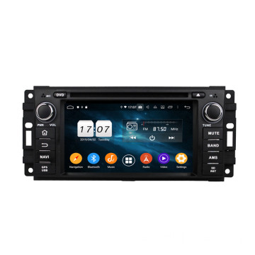 Car-Audio und DVD-Player für Jeep
