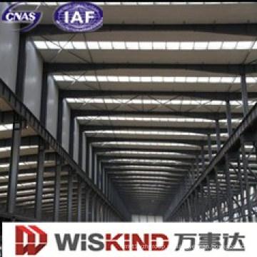 Parcela fácil de estrutura de aço aço oficina
