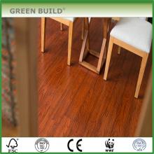 Handscraped goldener Farbe 15mm fester Bambusbodenbelag