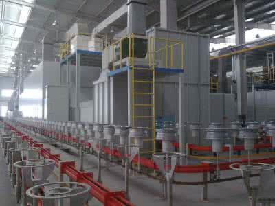 Automobile Wheel Coating Line