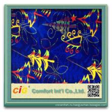 Мода новый стиль красочные автоматический изделий текстильной машине напечатал ткань ватки ткани автобусе