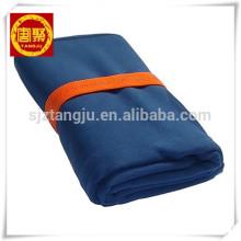 China fornecedor softtextile Microfibra tecido de camurça viagem / toalha de esportes / toalha de ginástica.