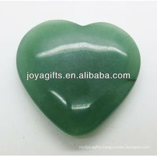 Natural green aventurine heart shape 35MM