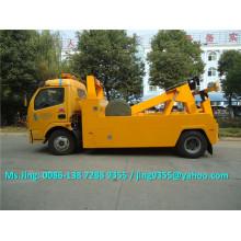 China Wrecker Abschleppwagen Hersteller, 5 Tonnen DFAC Rotator Abschleppwagen auf Verkauf in Saudi-Arabien