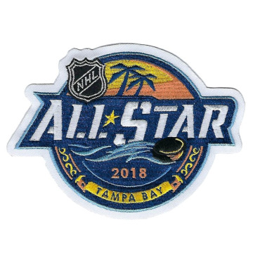 2018 All Star Game Tampa Bay Broderad Patch