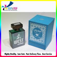 Blue Custom Printing Bottle Perfume Box