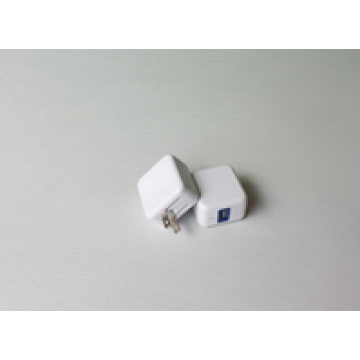 MINI 1port USB CHARGER (FOLDING) for mobile, US EUR AU UK TW JP option