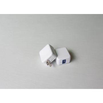 MINI 1port USB CHARGER (FOLDING) for mobile, US EUR AU UK TW JP option