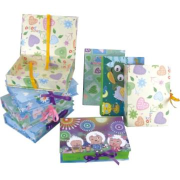 Boîte cadeau en papier, boîte à papier en poupée boîte à emballage boîte cadeau, boîte cadeau hexagonale