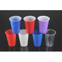 Material Plástico e Descartável Taça Vermelha Vinho Multicolor Drink Cup
